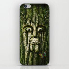 The Tremendous Mr. Treebley iPhone Skin