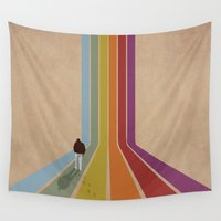 lonely Wall Tapestries featuring Lonely by Whitney Retter