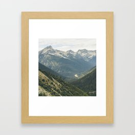 Canadian Rockies II Framed Art Print