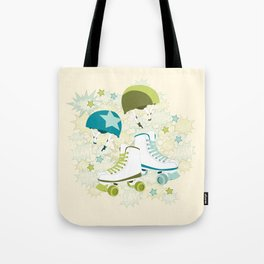 Roller Derby Rumble Tote Bag