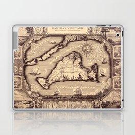 Map Of Marthas Vineyard Laptop & iPad Skin