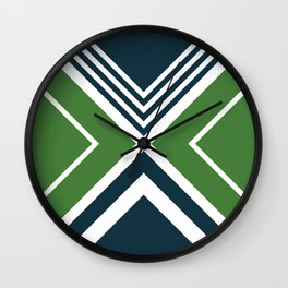 Nautical geometry 4 Wall Clock