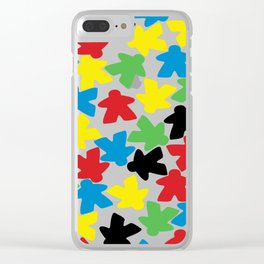 Meeple People Clear iPhone Case