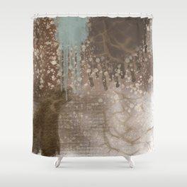 Splash of Textures Shower Curtain