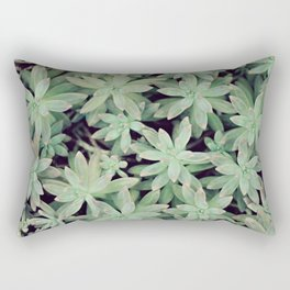 Succulent Abstract Rectangular Pillow