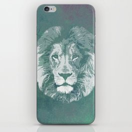 Lion's mark iPhone Skin
