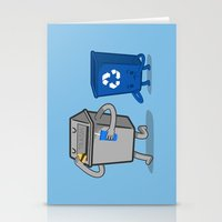 junk food Stationery Cards featuring Junk Food Diet by Jake Friedman