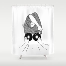 Sound Making Shower Curtain
