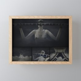 DoublePipe001 Framed Mini Art Print