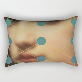 Her Stare Rectangular Pillow