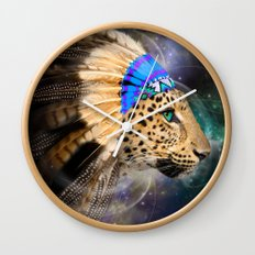 Fight For What You Love (Chief of Dreams: Leopard) Tribe Series Wall Clock