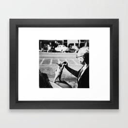 The Cat's Meow Framed Art Print