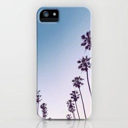 Bonair Street Palms iPhone Case