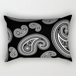Invert paisley pattern Rectangular Pillow