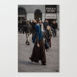 Afghan in Florence Canvas Print