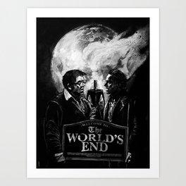 The World's End Art Print