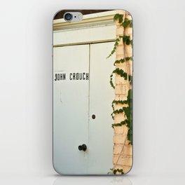 John Crouch iPhone Skin