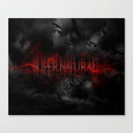 Supernatural darkness Canvas Print