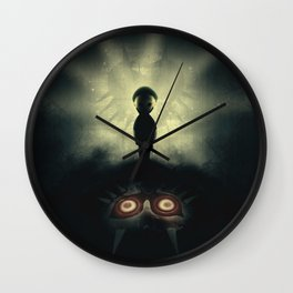 Ben Drowned/You Shouldn't Have Done That Wall Clock