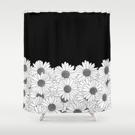 Daisy Boarder Shower Curtain
