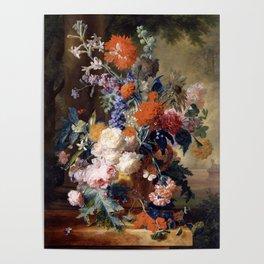 """Jan van Huysum """"Still life"""" Poster"""