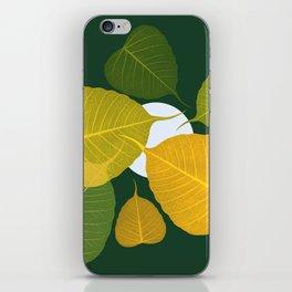 dead leaf club iPhone Skin