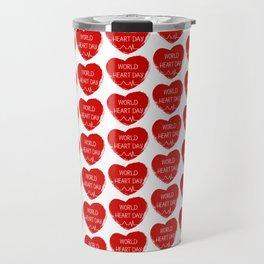 World heart day Travel Mug