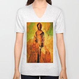 Saint Francis of Assisi Unisex V-Neck