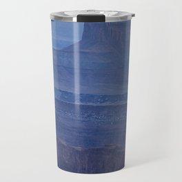 Layers of Blue Travel Mug