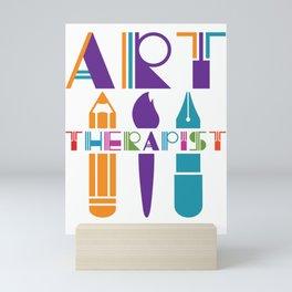 Art Therapist Mini Art Print