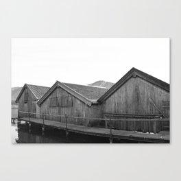 Boathouse No.1 Canvas Print