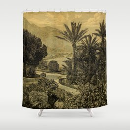 The Gardeners' Chronicle 1874 Shower Curtain