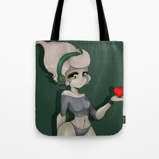 1. The Girl of Tin.  Tote Bag