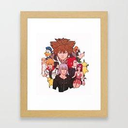 Kingdom hearts 2 Framed Art Print