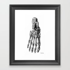 Foot 2 Framed Art Print