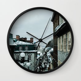 old Quebec Wall Clock