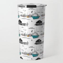 Tillamook Coast Travel Print Travel Mug
