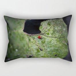 Beyond the void Rectangular Pillow