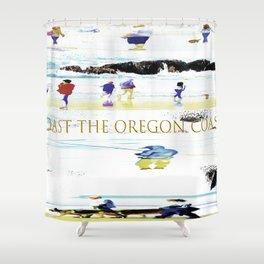 Coast The Oregon Coast Shower Curtain