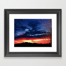 Mom's Sunrise Framed Art Print