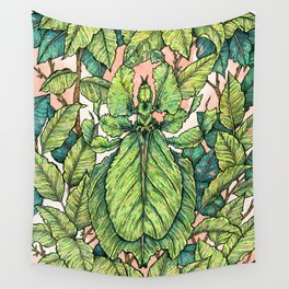 Leaf Mimic Wall Tapestry
