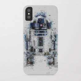R2-D2, Newspaper Style iPhone Case