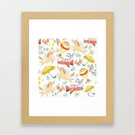 Unicorn Song Framed Art Print