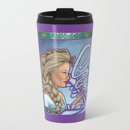 A Kingdom of Ice-olation (Winter Nouveau) Travel Mug