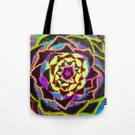 Organic Mandala Tote Bag