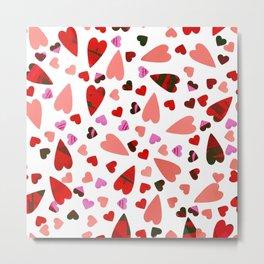 Scatter my (LOVE) Heart Metal Print
