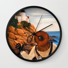 The Deep Sea Creeper Wall Clock