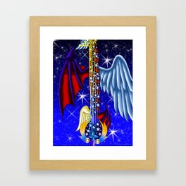 Fusion Keyblade Guitar #165 - Way to the Dawn & Star Seeker Framed Art Print
