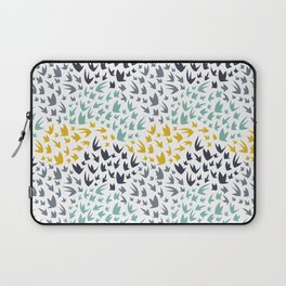Abstract Flying Birds Laptop Sleeve