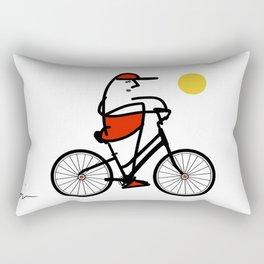 La bicicleta Rectangular Pillow